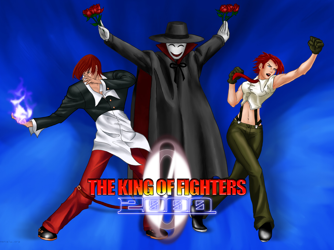 The King Of Fighters 2000 Metaly Fled