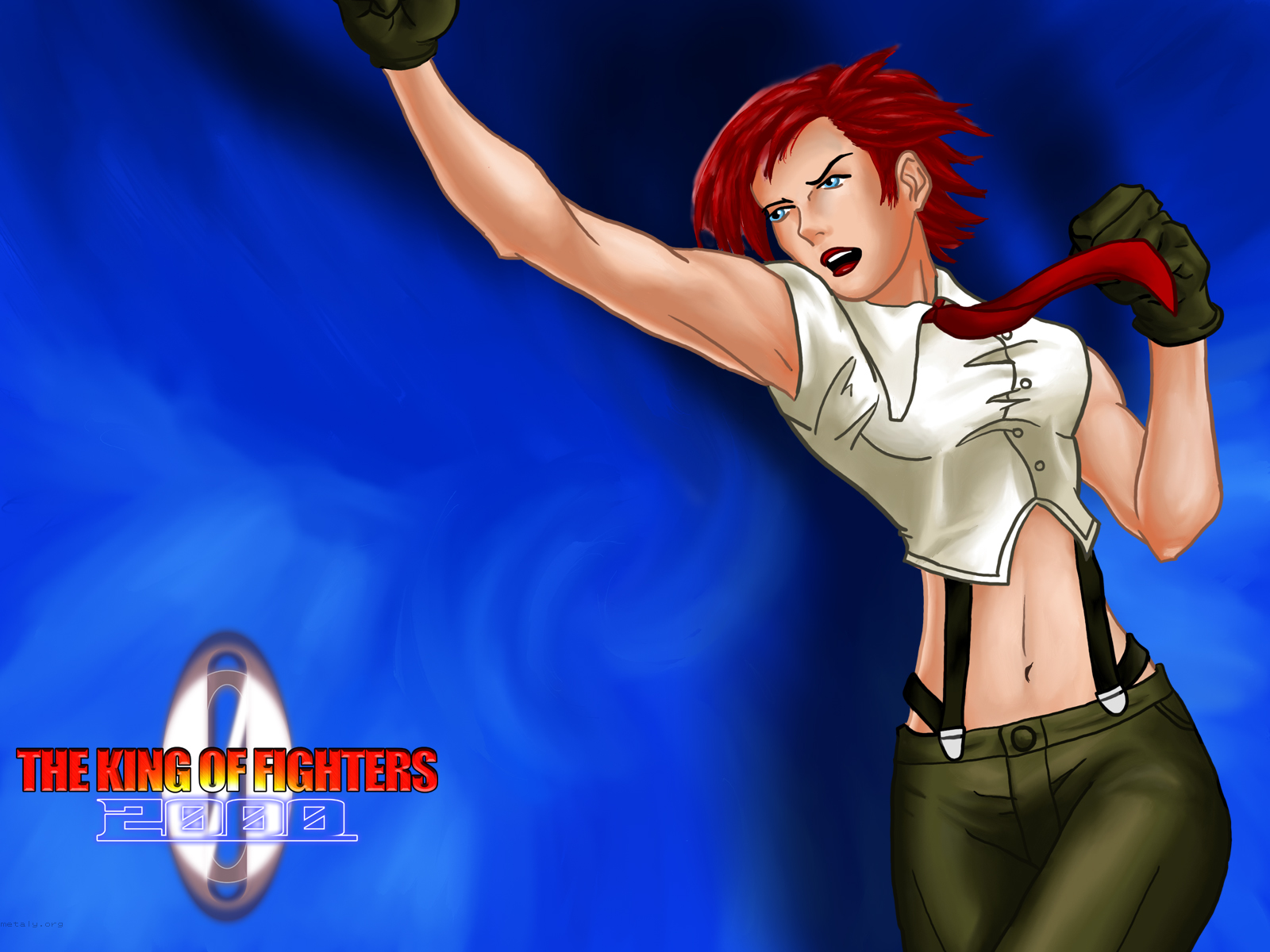 The King Of Fighters 2000 Vanessa Metaly Fled