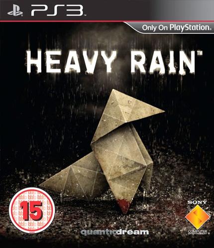 Heavy Rain European box art