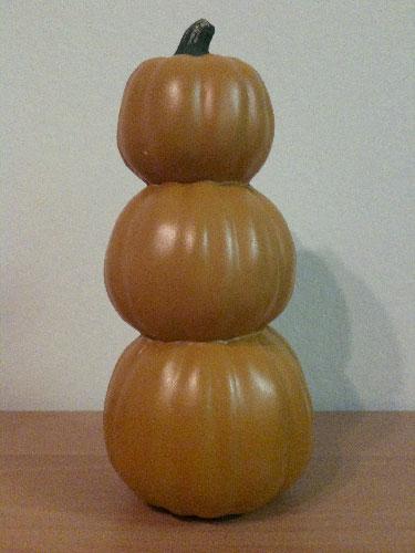 A pumpkin stack draws near!